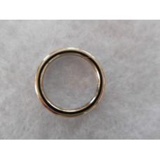 O-rengas,hitsattu,hopeanvärinen,18 mm,10 kpl/pss