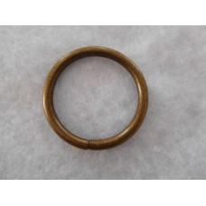 Metallirengas,32 mm,väri pronssi,10 kpl/pss