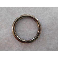 Metallirengas, 33 mm, musta, 10 kpl/pss
