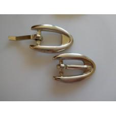 Metallisolki 30x20 mm, 10 mm:n hihnalle