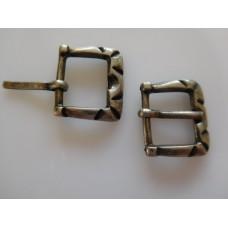 Metallisolki 17x15 mm, 10-12 mm:n hihnalle