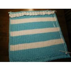 Vauvan peitto sininen