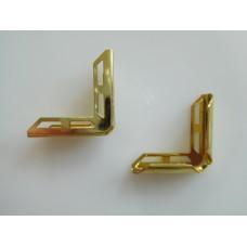 Metallikulma 22x5 mm, kulta