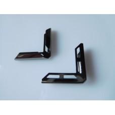 Metallikulma 22x5 mm, hematiittiharmaa