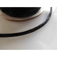 Makrameenyöri 2 mm, musta